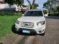 Pearlwhite Hyundai Santa Fe  2.2 Crdi Auto 2010 for sale in Paranaque City
