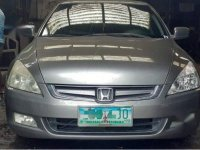 Silver Honda Accord for sale in Quezon