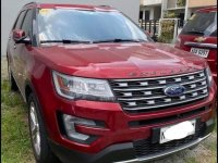 Sell Red 2017 Ford Explorer in Quezon City