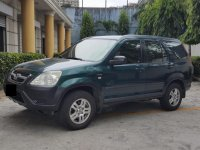 Green Honda Cr-V 2002 for sale in San Juan City