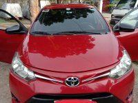 Red Toyota Vios 2016 for sale in Cebu City