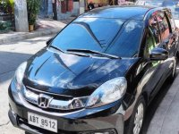Black Honda Mobilio 2016 for sale in Manila