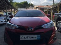 Red Toyota Vios for sale in Cebu
