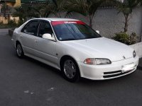 White Honda Civic 1992 for sale in Las Pinas City
