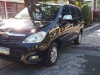 Black Toyota Innova 2009 for sale in Quezon City