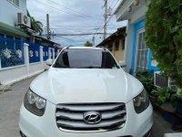 White Hyundai Santa Fe 2015 for sale in Pampanga