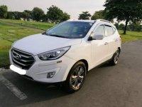 White Hyundai Tucson 2015 for sale in Quezon City