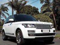 White Land Rover Range Rover Vogue SDV8 Diesel 2014 for sale in Makati
