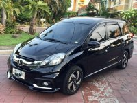 Selling Black Honda Mobilio 2015 MPV in Pasig