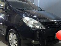 Black Toyota Innova 2010 for sale in Manila