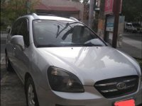 Selling Silver Kia Carens 2008 in Bacoor