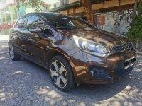 Brown Kia Rio 2015 for sale in Mandaluyong