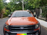 Selling Orange Ford Ranger 2015 in Manila
