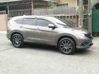 Selling Silver Honda Cr-V 2013 in Manila