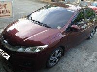 Red Honda City 2015 for sale in Manila
