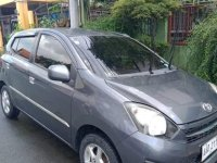 Sell Grey 2014 Toyota Wigo in Quezon City