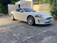 Selling White Jaguar Xkr 2010 in Parañaque