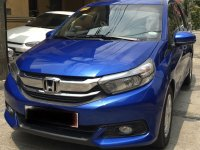 Blue Honda Mobilio 2018 for sale in Manila