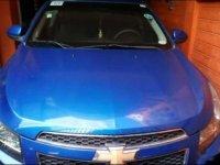 Blue Chevrolet Cruze 2013 for sale in Marikina