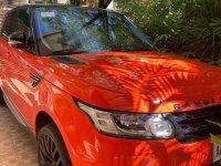 Orange Land Rover Range Rover Sport for sale in Pasig