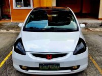 Pearl White Honda Jazz for sale in Quezon