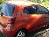 Selling Orange Toyota Wigo in Apalit