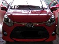 Red Toyota Wigo for sale in Valenzuela