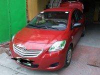 Sell Red 2011 Toyota Vios Sedan at 70000 km in Floridablanca