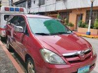 Red Toyota Innova for sale in Manila
