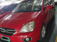 Red Kia Carens for sale in Quezon