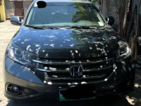 Selling Black Honda CR-V 2012 in Manila