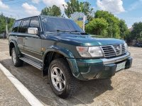 Selling Green Nissan Patrol 2001 in Quezon City