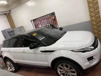 White Land Rover Range Rover Evoque 2015 for sale in Quezon City