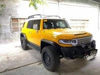 Yellow Toyota FJ Cruiser 2016 for sale in Angat