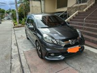 Selling Black Honda Mobilio 2016 SUV in Manila