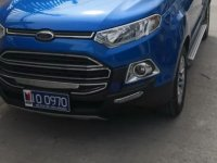 Selling Blue Ford Ecosport 2017 in Bacoor