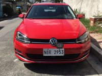 Red Volkswagen Golf 2018 for sale in Manila