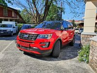 Red Ford Explorer 2017 SUV / MPV for sale in Quezon City