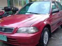 Red Honda City 1997 for sale in Valenzuela