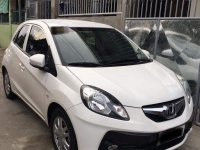 White Honda Brio for sale in Magalang