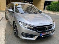 Silver Honda Civic 2016 for sale in Manila