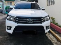 White Toyota Hilux for sale in Caloocan