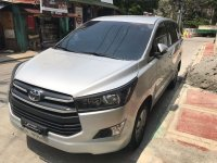 Selling Silver Toyota Innova 2017 in Manila