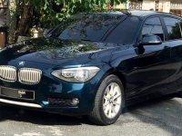 Selling Blue BMW 118D 2013 in Muntinlupa