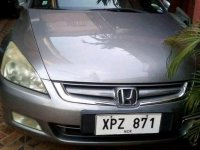 Silver Honda Accord 2005 for sale in Pasay City