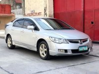 Silver Honda Civic 2007 for sale in Manila