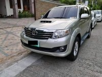 Sell Silver Toyota Fortuner in Muntinlupa