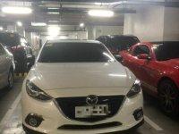 White Mazda 3 2015 for sale in Manila