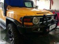 Yellow Toyota Fj Cruiser for sale in Malabon