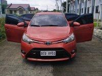 Sell Orange 2016 Toyota Vios in Quezon